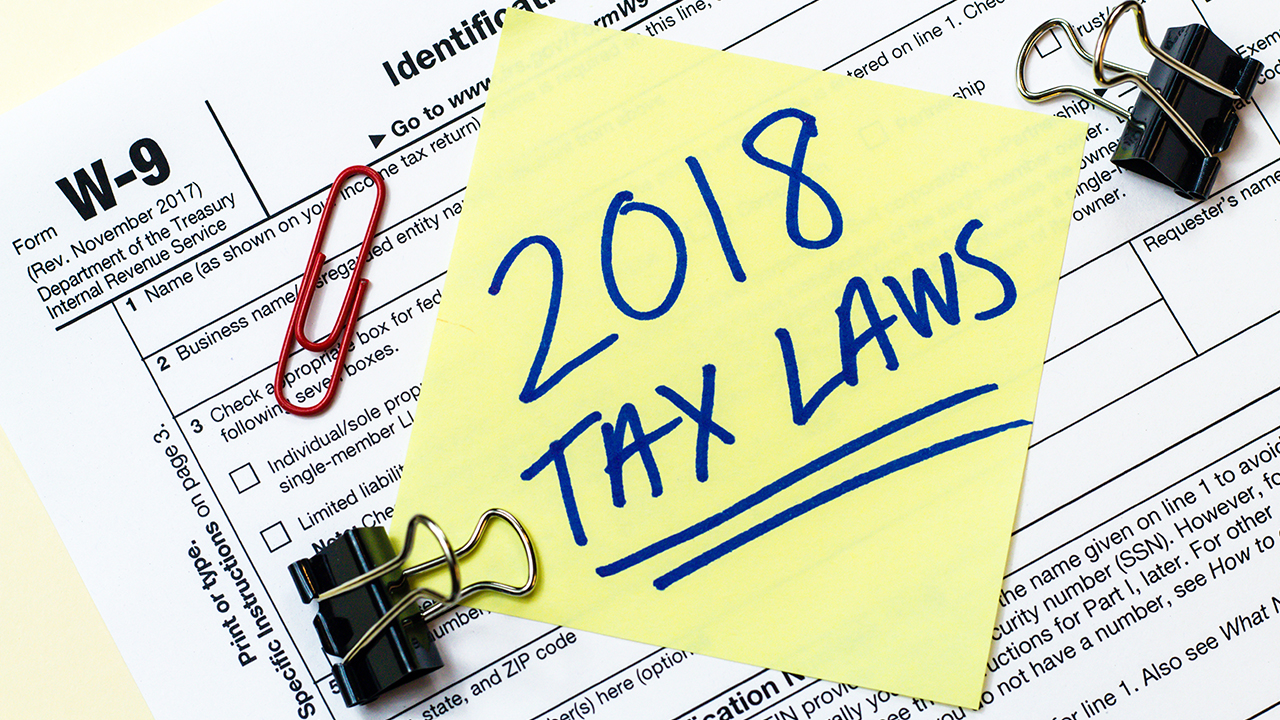 Financial impact from 2018 tax laws