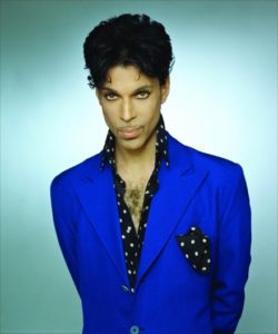 The singing artist - Prince